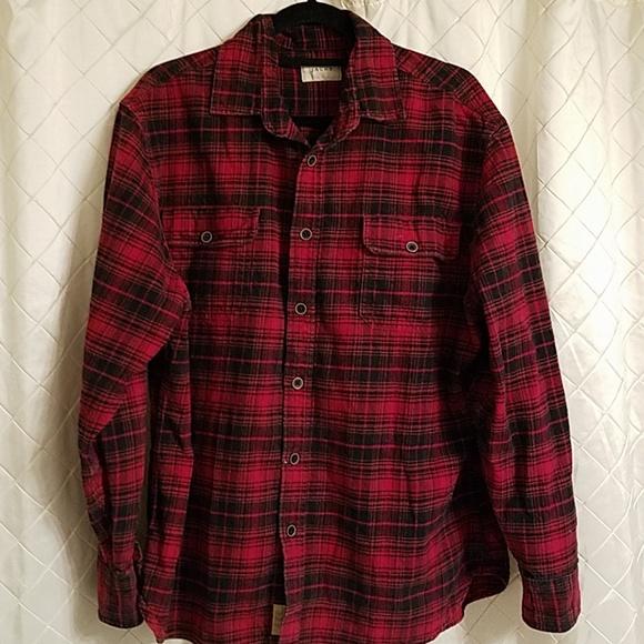 697413e4201e53 JACHS Shirts   Xl Red And Black Plaid Flannel Shirt   Poshmark